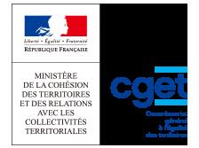 Ministère de la Cohésion des territoires et des Relations avec les collectivités territoriales - CGET